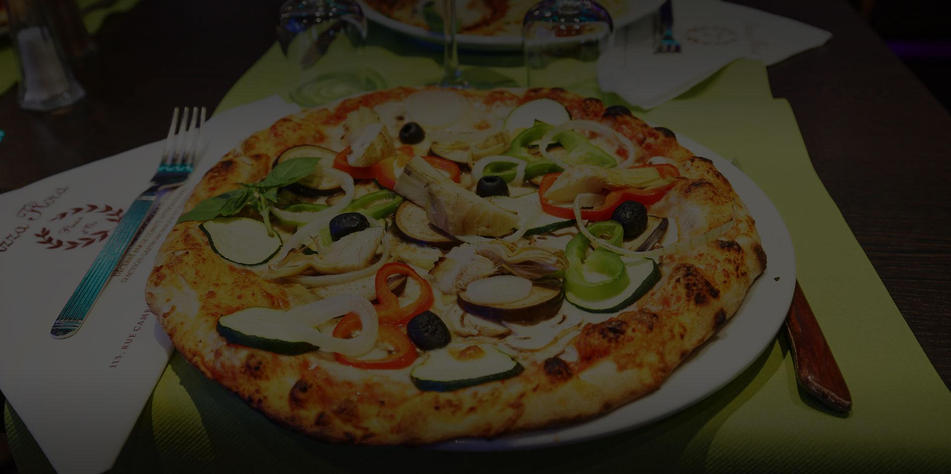 Pizza flora restaurant italien et pizzeria paris 15e - Pizzeria porte de versailles ...